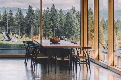 table en résine epoxy