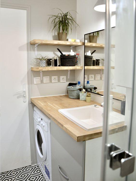 idée décoration petite salle de bain